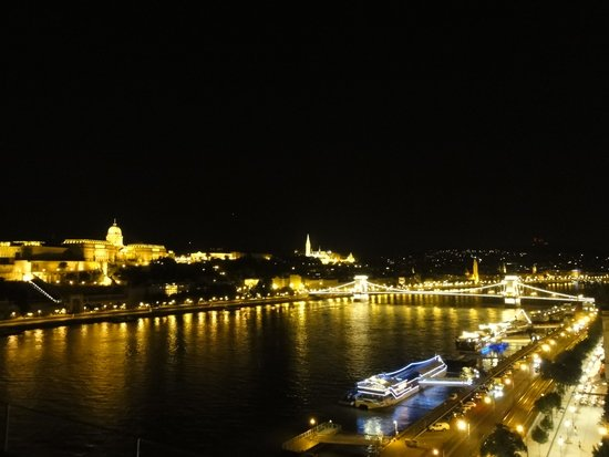 Budapest Marriott Hotel : From the hotel terrace
