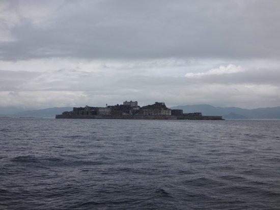 Hashima Island : ワッ、現れた!