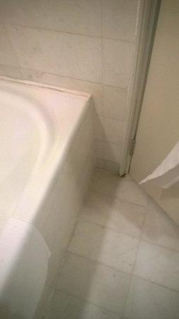 PARKROYAL Penang Resort, Malaysia : Rotting Bathroom Door Frame