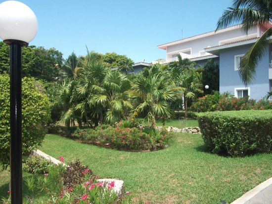 Hotel Riu Playacar: grounds on way to beach
