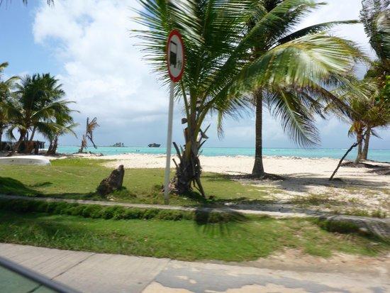Cocoplum Beach Hotel: linda vista muy cerca al hotel