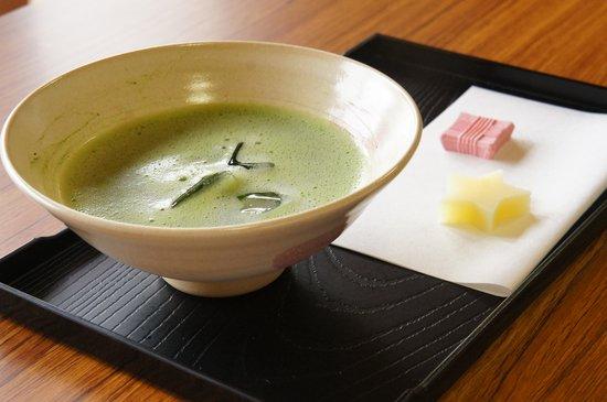 Kanra-machi, ญี่ปุ่น: 抹茶をいただきました