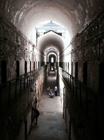 Eastern State Penitentiary : newer cell block