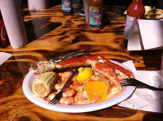 The Crab Shack: Low Country Boil