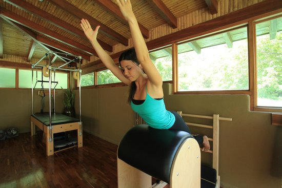 Florblanca - Pilates: Full Swan on the Ladder Barrel