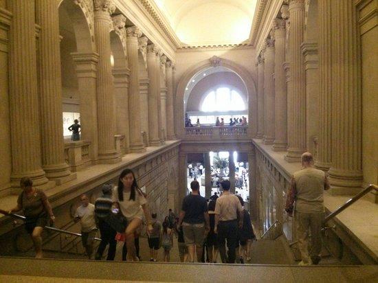 Philadelphia Museum of Art: Inside second level