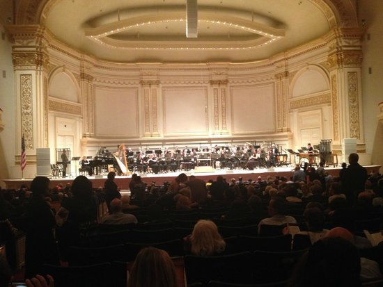 Carnegie Hall: June 9, New York Wind Symphony following our performance of the Bluegrass Mass