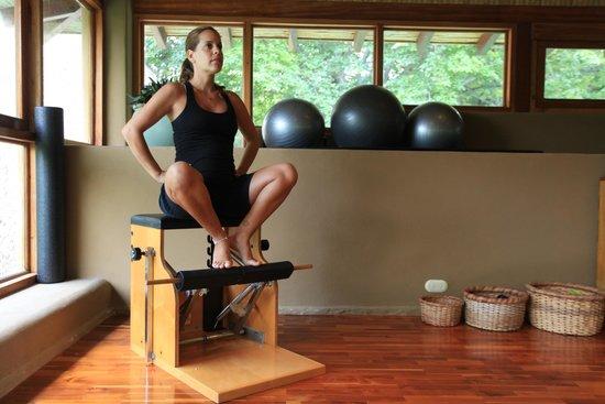 Florblanca - Pilates: Prenatal Footwork on Wunda Chair