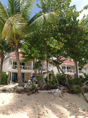 Galley Bay Resort: Our room-33- left bottom right