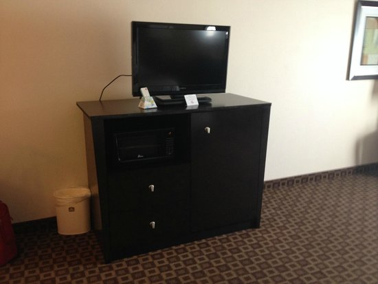 BEST WESTERN Longview: Tv, microwave and refrigerator