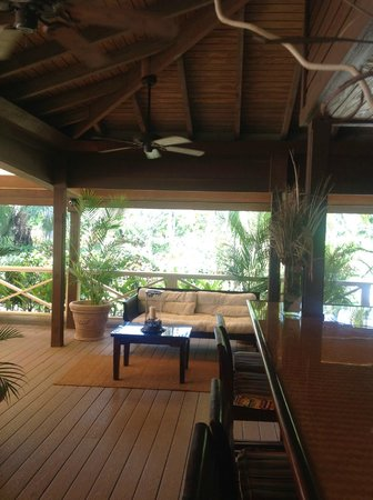 Galley Bay Resort & Spa - All Inclusive : Ismay's restaurant waiting area