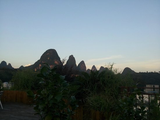 Yangshuo Village Retreat : View from the roof