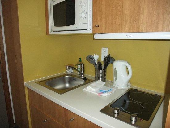 Adagio Annecy Centre : Kitchen area