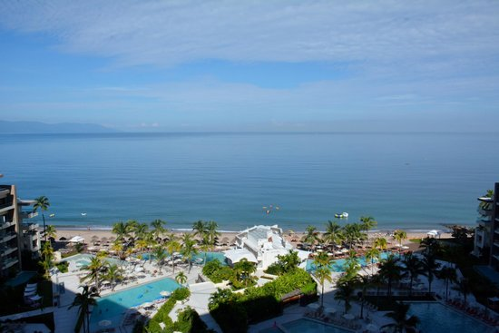 Now Amber Puerto Vallarta : Beach front view from room