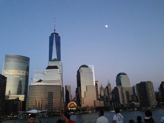 Conrad New York: 船上からの景色