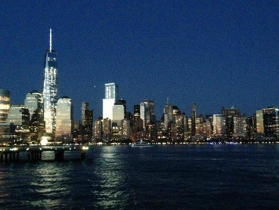 Conrad New York : 船上からの景色