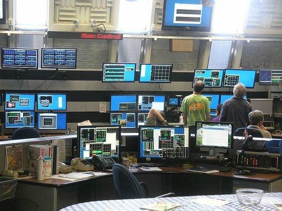 Fermi National Accelerator Laboratory: Monitoring room