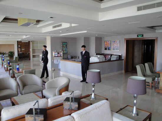 Friend Plaza Hotel Dandong : Executive Lounge and Observation Deck