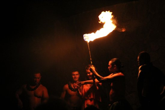 The Grand Luau at Honua'ula : fire