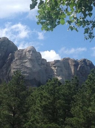 Mount Rushmore National Memorial : Mount Rushmore, Keystone, South Dakota