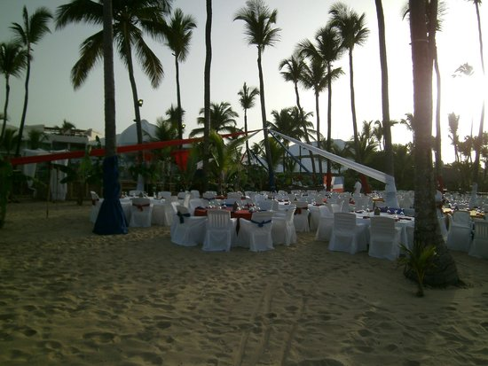 Excellence Punta Cana : Beach dining
