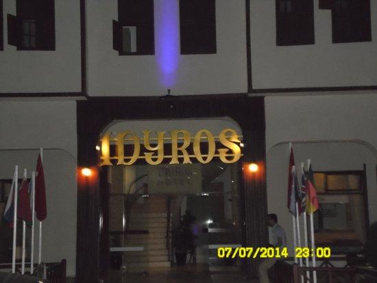 Idyros Hotel: Вход в отель
