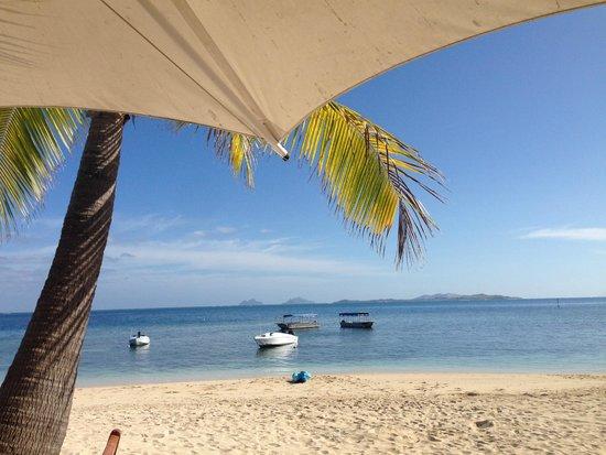 Castaway Island Fiji: View from breakfast table