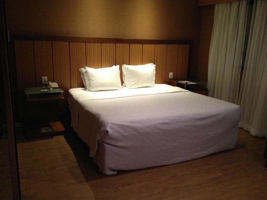 Bourbon Convention Ibirapuera: A cama não é convidativa