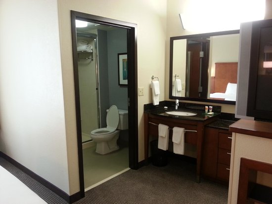 Hyatt Place Atlanta Airport North : Bathroom/Sink