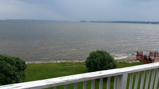 Thomas Mott Homestead : Lake Champlain