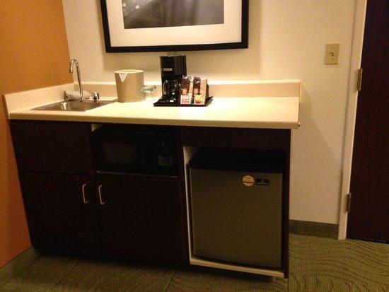 Wet Bar Area Picture Of SpringHill Suites Austin