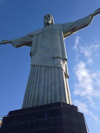 Estatua de Cristo el Redentor: En la cima!