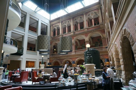 InterContinental Sydney: heritage building incorporated in Hotel