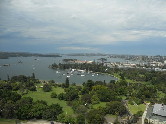 InterContinental Sydney: view from Club Lounge