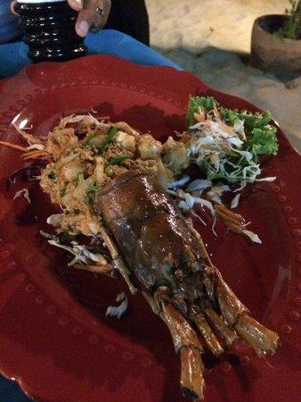 ZENZIBAR Beach Bar & Restaurant : Curry de lobster un régal !