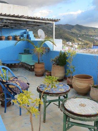 Dar Gabriel: La terraza superior y vistas