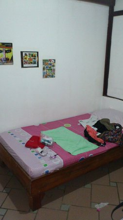 Sunrise Backpackers Hostel: bed