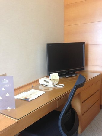 The Gardens Hotel & Residences : Small TV