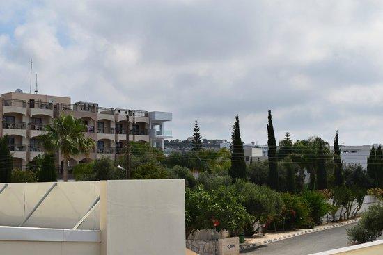 Nelia Gardens Hotel : Вид изномера
