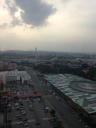 Hatten Hotel Melaka: View from sky terrace
