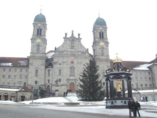 Kloster Einsiedeln: Einsideln before Christmast 2013