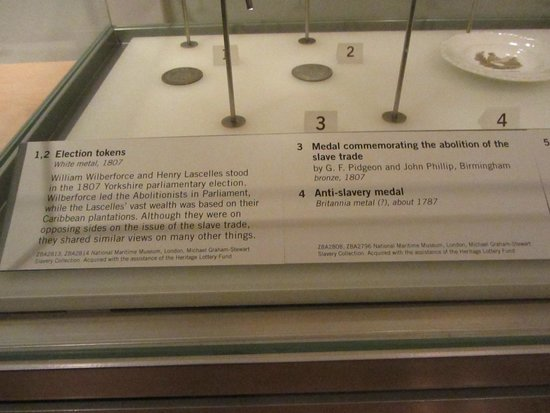 National Maritime Museum: Articles of abolitionists.