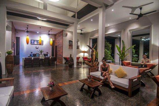 Luang Prabang View Hotel : Lobby Seating Area