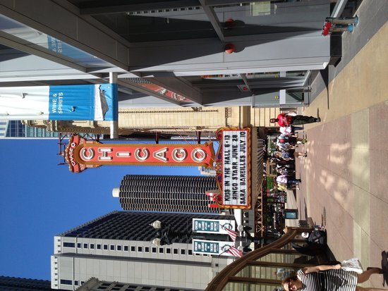 The Chicago Theatre: Foto da parte externa
