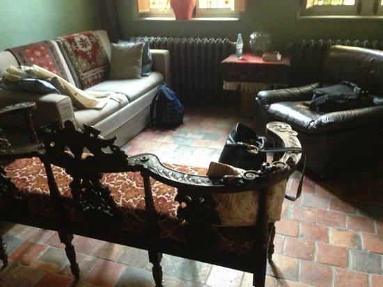 B&B Myriame Dolders: sitting area (ground floor room)