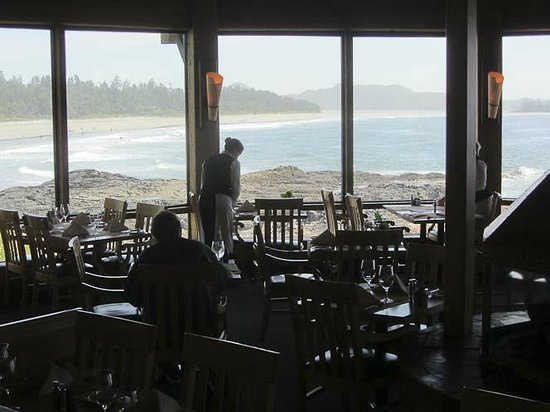 Wickaninnish Restaurant: Views from the restaurant