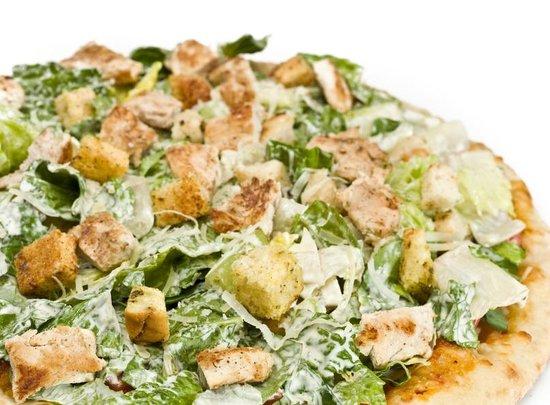 Pizza One: Chicken Caesar Salad Pizza