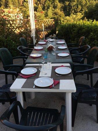 Cena a Borgo Tepolini.