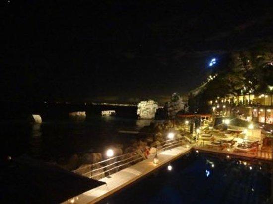 Capo La Gala Hotel: panorama notturno
