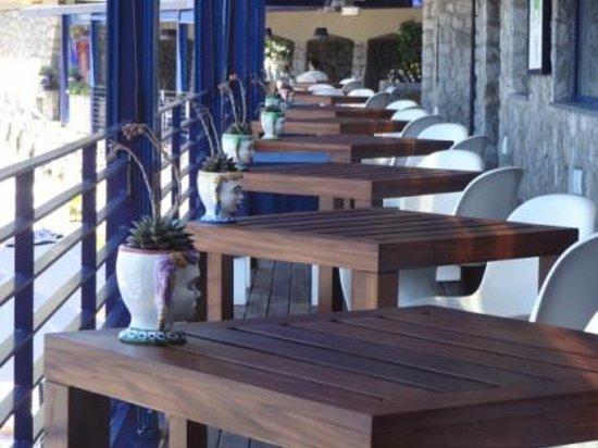 Capo La Gala Hotel: sala colazione